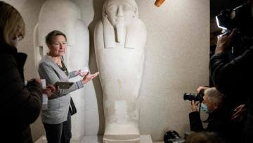 GERMANY-CULTURE-MUSEUM-CRIME-VANDALISM
