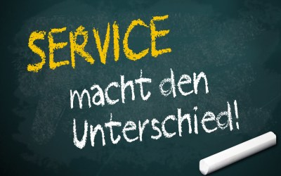 Content mit Service