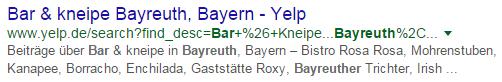 Yelp Bayreuth