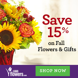 Save 15% on Summer Flowers and Gifts at 1800flowers.com and be the reason they...smile! Use Promo Code FFTNSAVE at checkout.