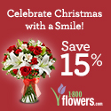 Celebrate Thanksgiving with a smile! Save 15% on Flowers & Gifts at 1800flowers.com. Use Code TURKEY2013 at checkout