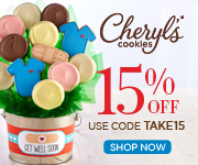 Take 15% OFF your favorite Winter Cookies and Goodies at Cheryls.com! Use code TAKE15