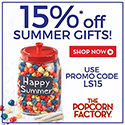 30% off selected items PLUS an additional 10% during the Cyber Monday Sale at ThePopcornFactory.com! (valid 1 day only Nov 26, 2012 until 11:59pm EST) Use coupon code CYBER10