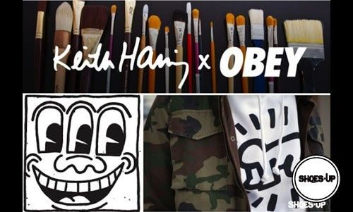 Obey x Keith Haring