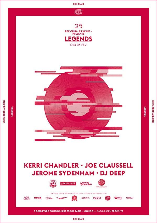 Rex Club: Legends party