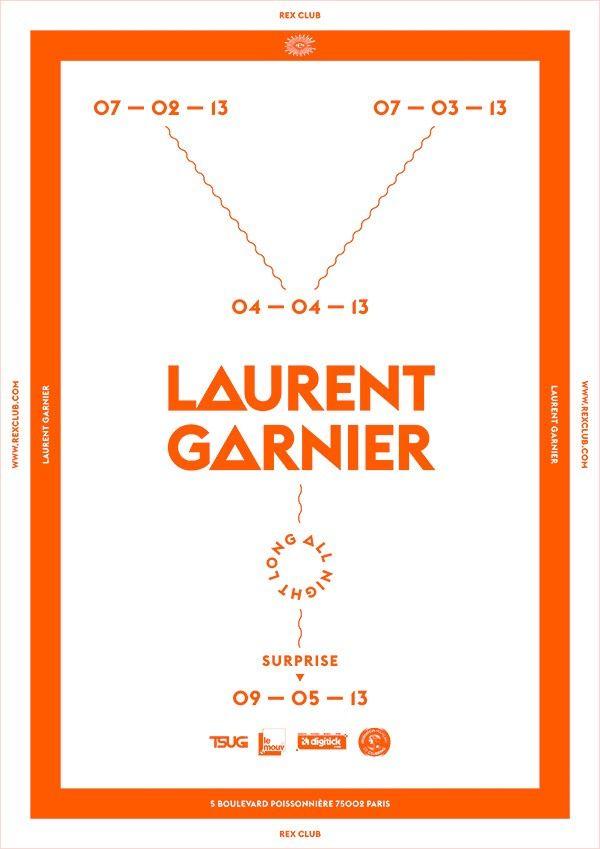Rex Club « 25 years » Presents : Laurent Garnier