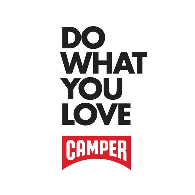 CAMPER « DO WHAT YOU LOVE »