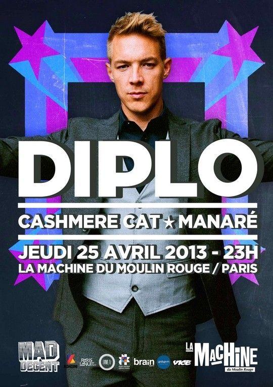 Diplo @ La Machine