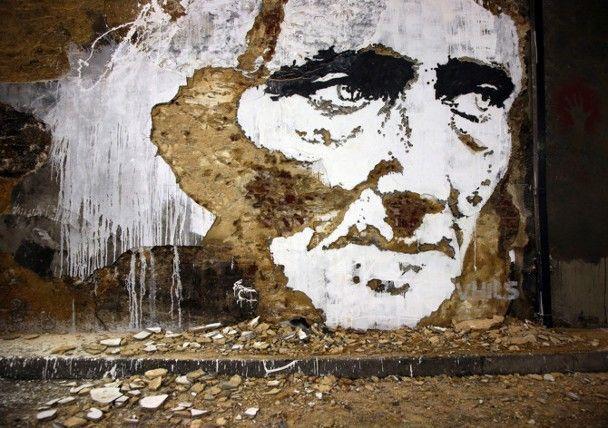 Street artist Vhils