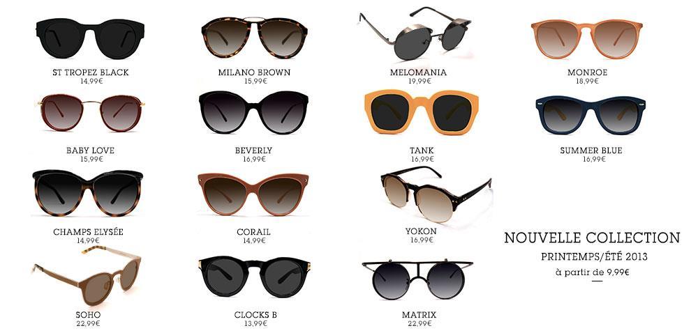 collection printemps ete usine a lunette