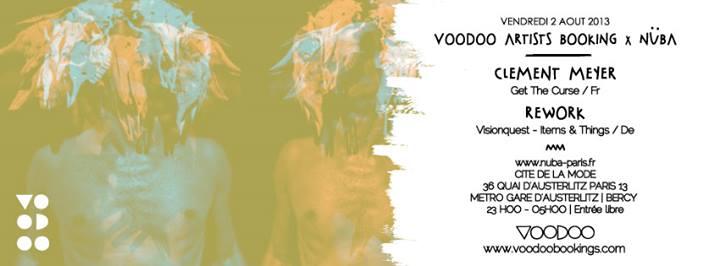 voodoo artists booking