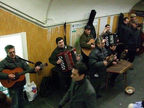 musicien metro paris