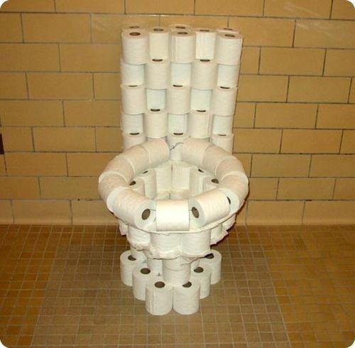 toilettes papier