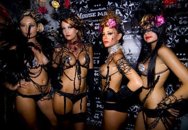filles clubbing