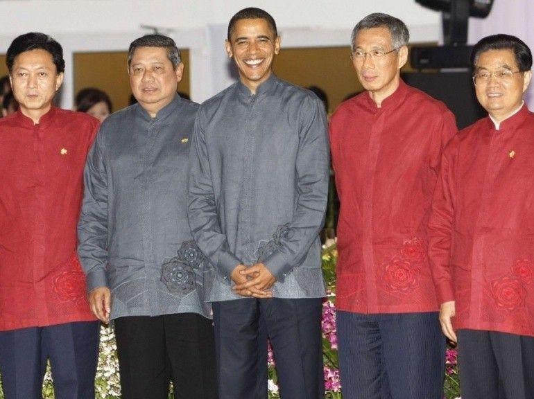 sommet APEC costumes