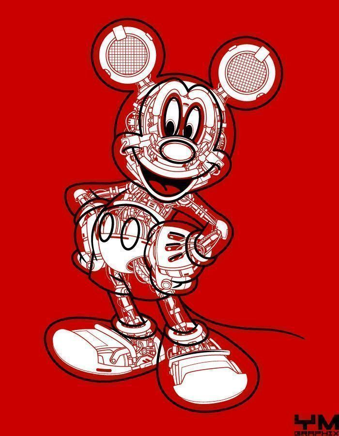 Robot Mickey Mouse