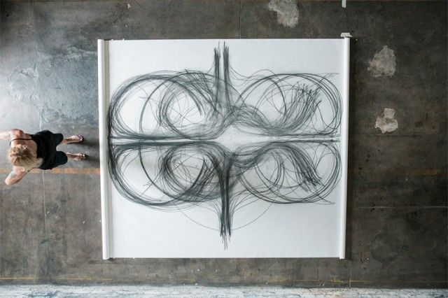 Heather Hansen painting