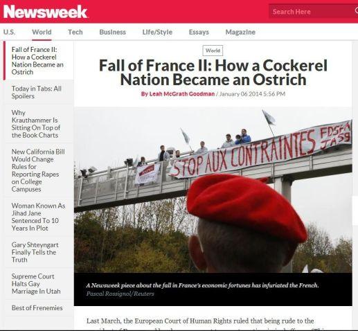 Newsweek the fall of france 2