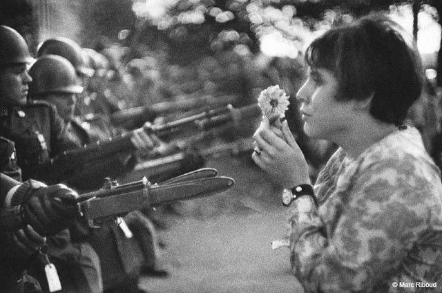 1967 Pentagone Jane Rose Kasmir Marc Riboud