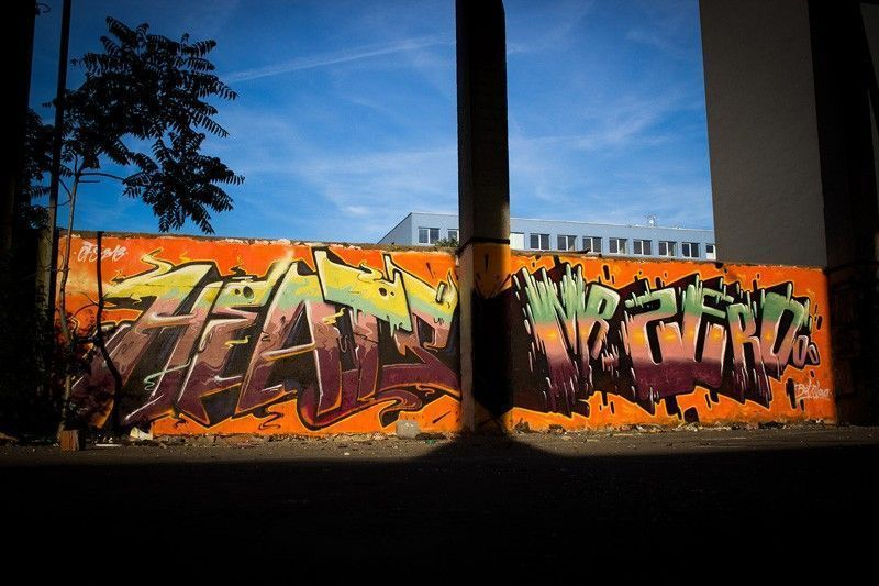 Graffiti Tag Fat Heat