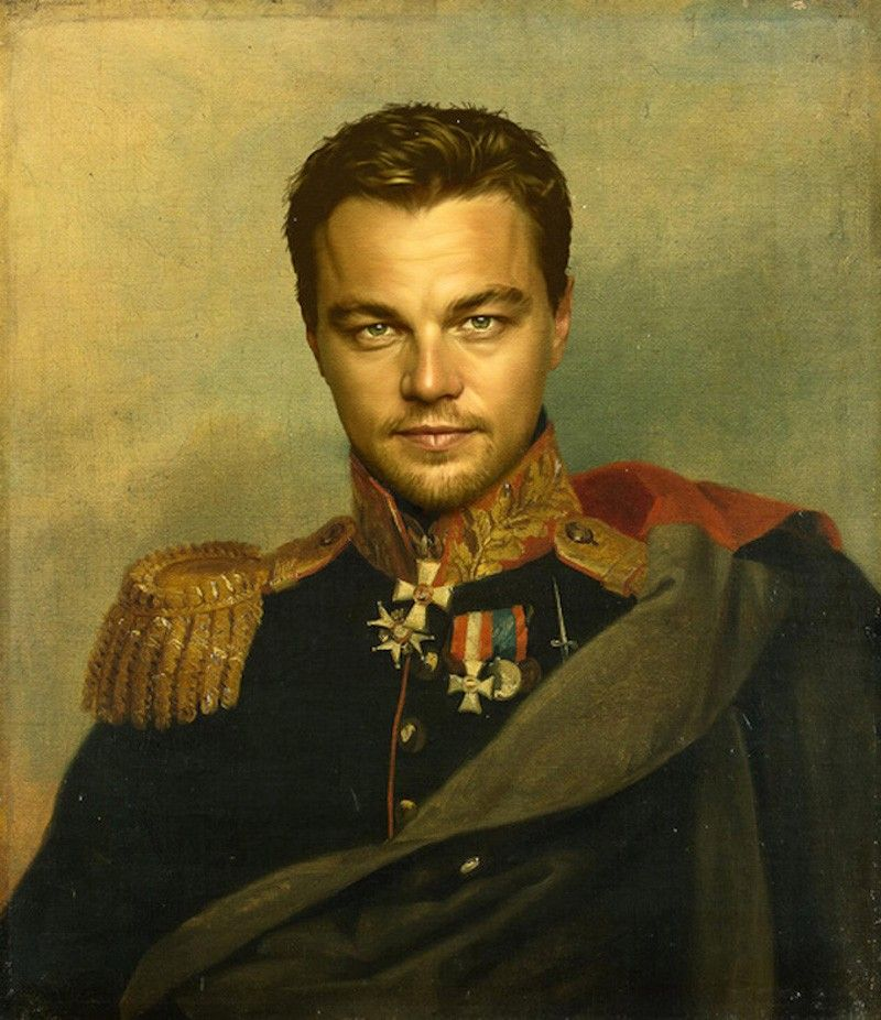 Leonardo DiCaprio Peinture George Dawe