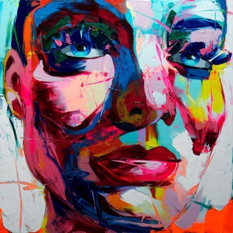 Painting Françoise Nielly