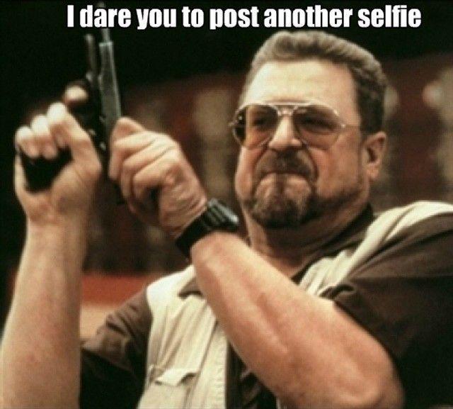 Poste un autre selfie, OSE