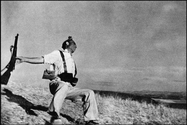 Robert Capa Civil War 1936 Espagne