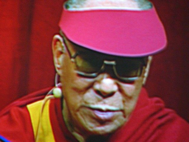 Selfie Dalai lama Instagram