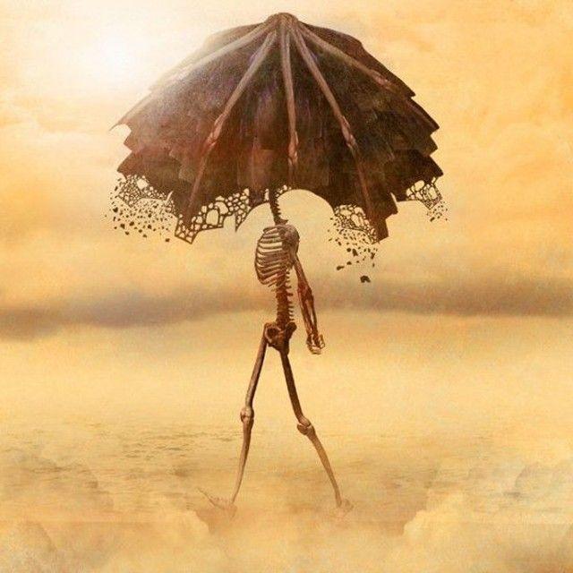 Squelette parapluie Januz Miralles