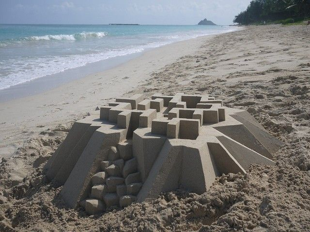 calvin seibert château de sable 1