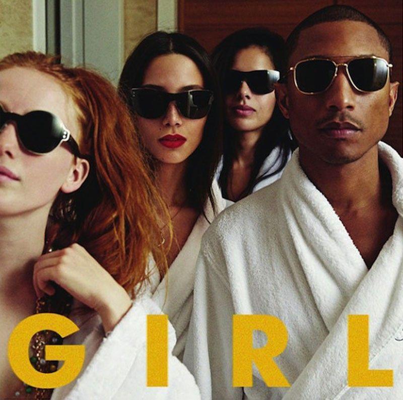 pharrell girl new album shoes up