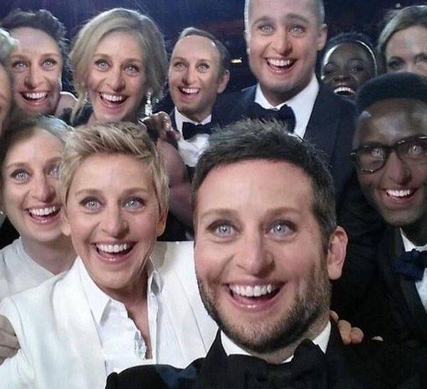 selfie Ellen de generes