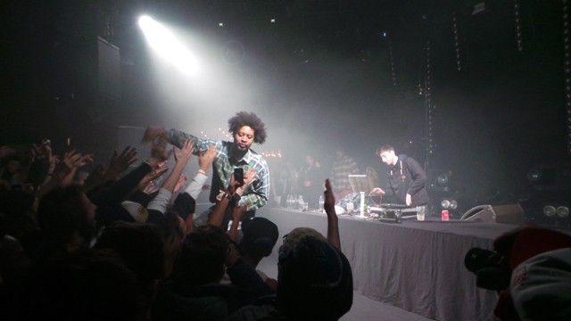 Danny Brown au trabendo concert paris (1)