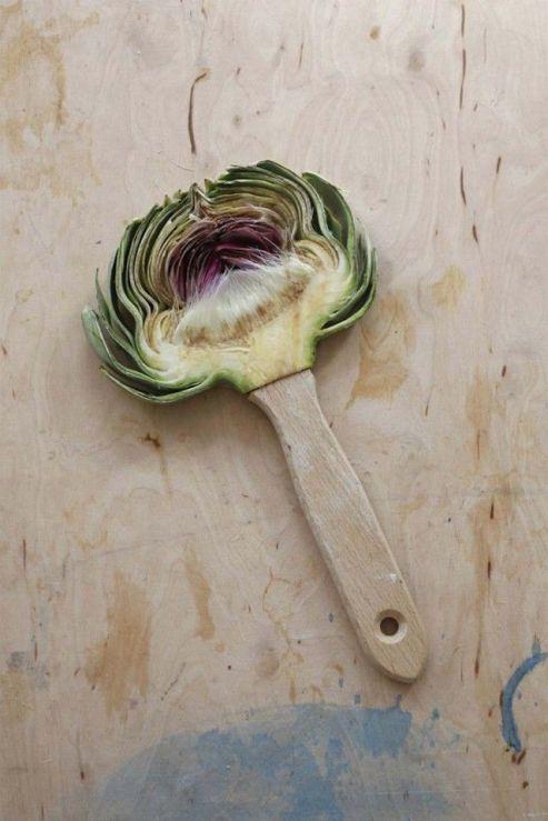 Sarah-Illenberger-Food-Art-pinceau