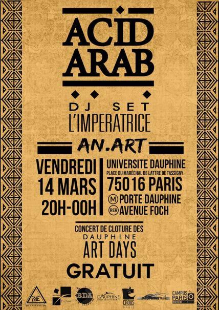 acid arabe mike huckaby
