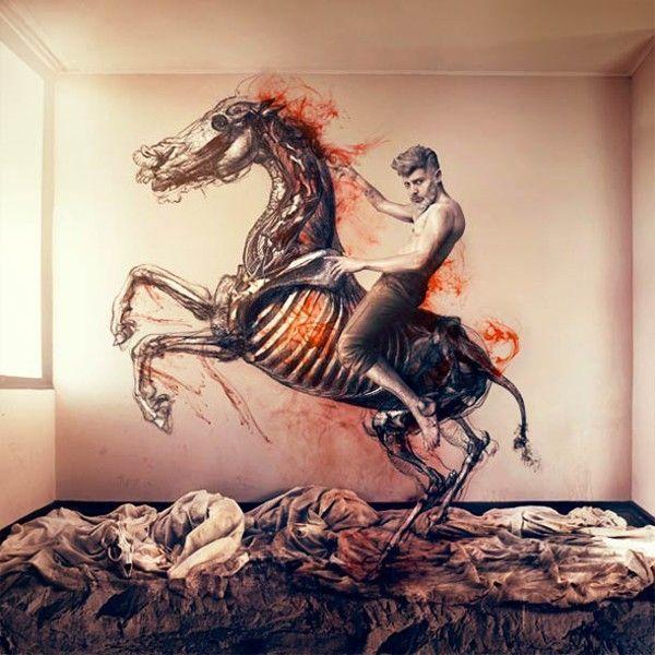 cheval-feu-photo