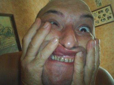 grimace selfie facebook