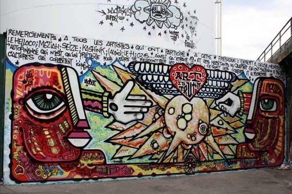 mur graff