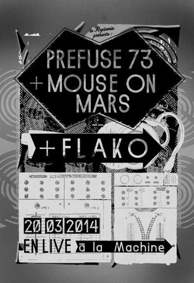 prefuse 73 flako mouse on mars