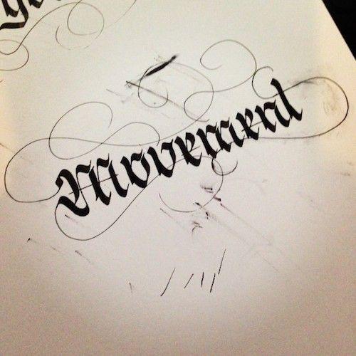 Calligraphie Sam