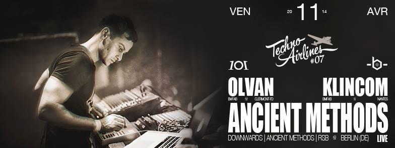 Techno Airlines - Olvan - Klincon - Ancient Methods