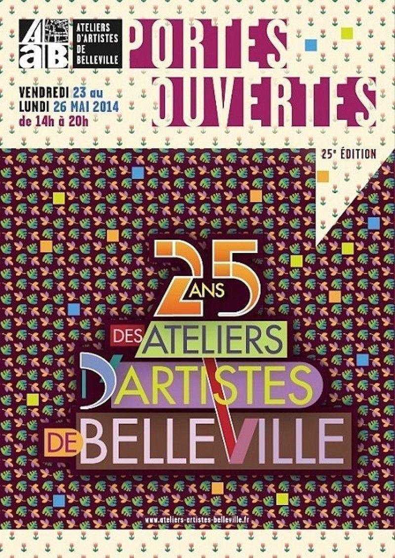 ateliers artistes belleville