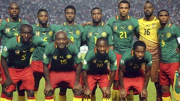 équipe foot cameroun