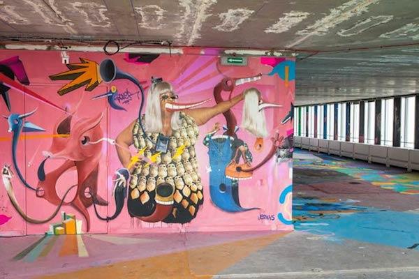 tour pleyel street art