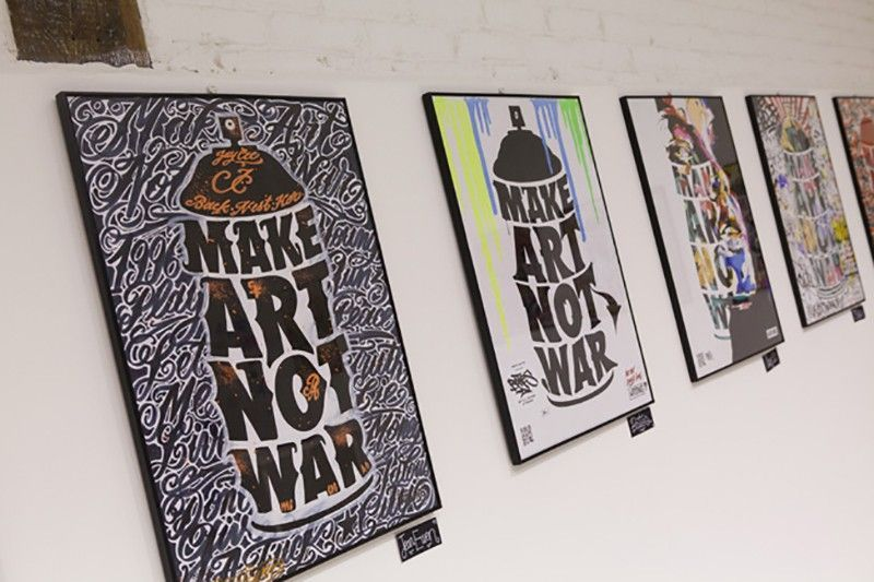 Wrung make art not war