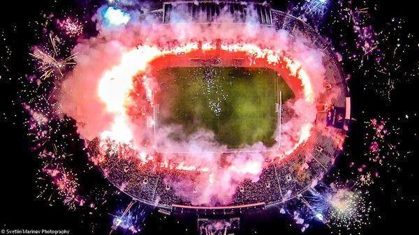 dronestagram stade football