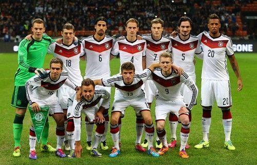 equipe foot allemande