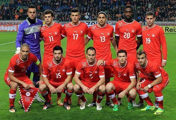 équipe de foot suisse