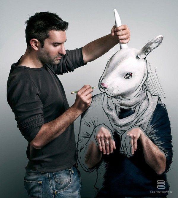 photo-dessin-lapin
